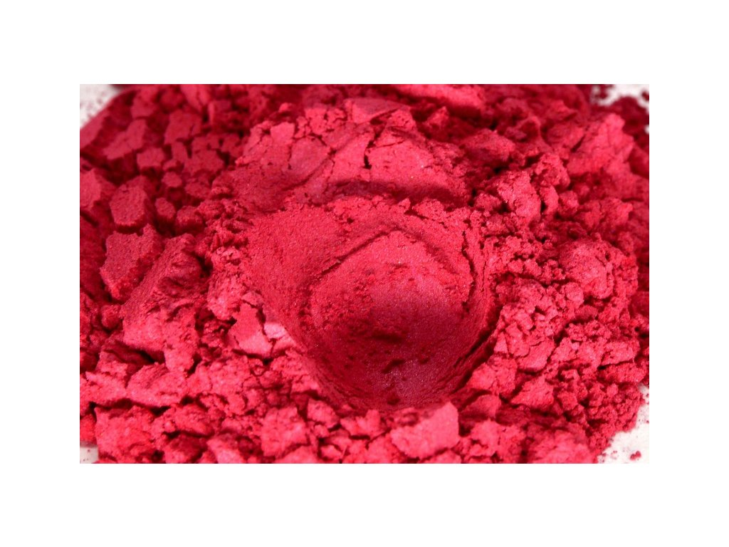 metalicky pigment 0121 red