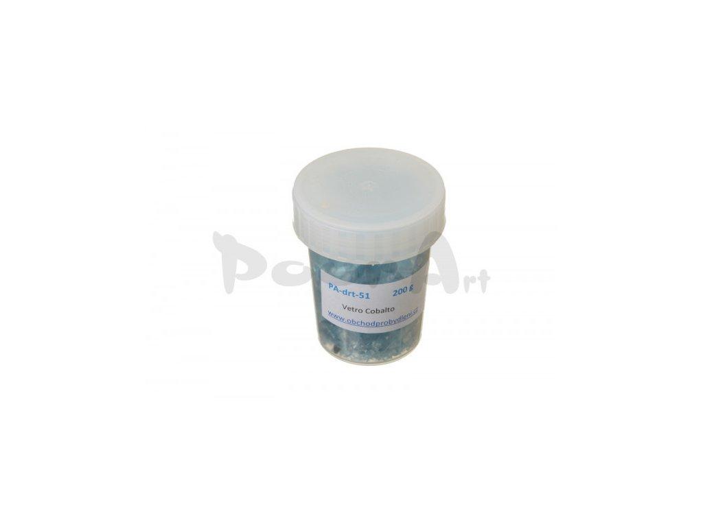 9086 pourart sklenene strepy 51 blue cobalto 200g