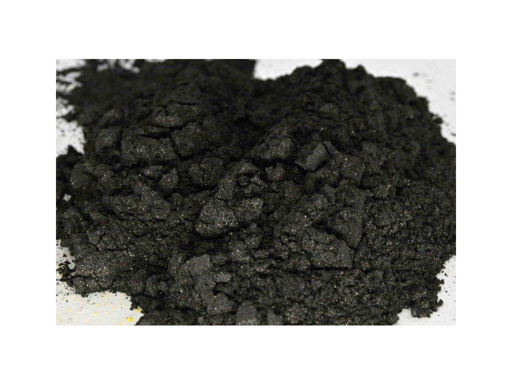 metalicky pigment 0124 cerna