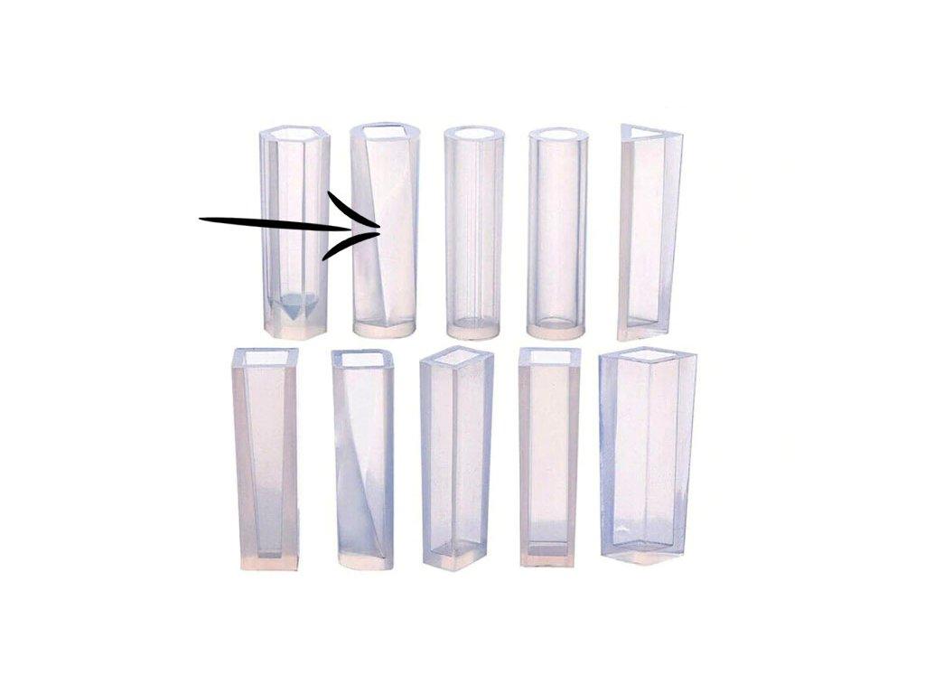 silikonova forma krouceny krystal