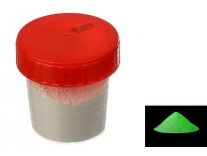 7043 pourart svitici prasek zelena zare 50g