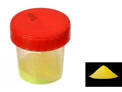 7064 pourart svitici prasek neon zluta zare 50g