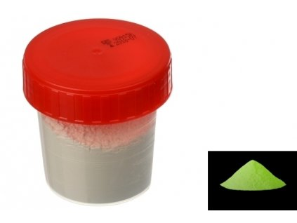 7067 pourart svitici prasek zlutozelena zare 50g