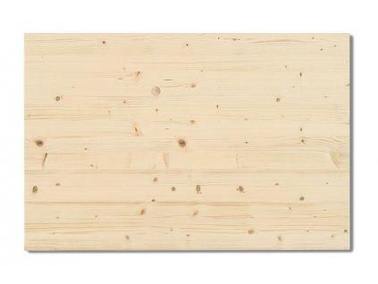 7076 deska na obrazy borovice 400x200x25 mm