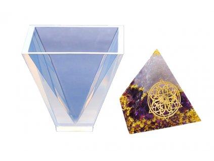 silikonova forma jehlan 10x0