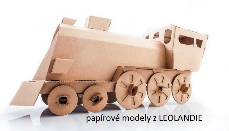 Leolandia lokomotiva