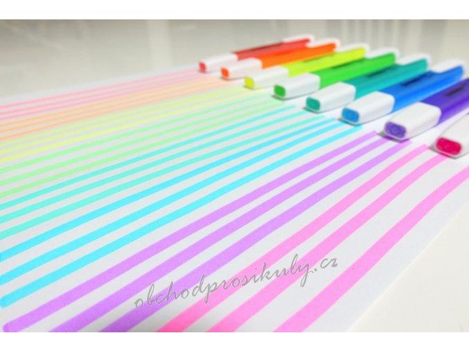 Zvýrazňovače STABILO Swing Cool, jednotlivé barvy