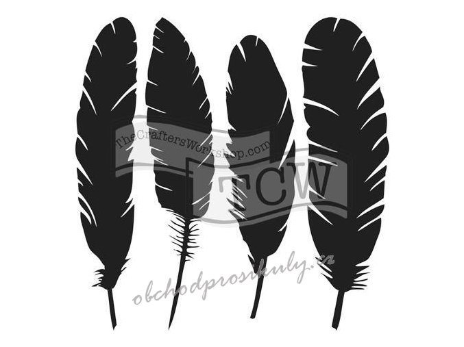 Šablona  4 Feathers