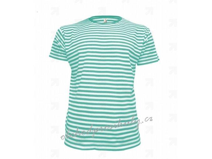 Dětská trička pruhovaná