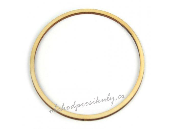 Dřevěný výřez, kruh 8cm