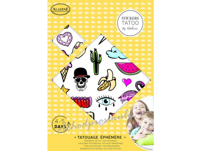 Tetovací obtisky dětské