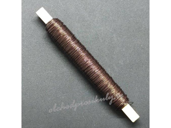 Dekorační drátky 0,5mm, různé barvy
