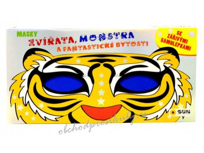 karnevalove masky zvirata monstra fantasticke bytosti 372 1 original