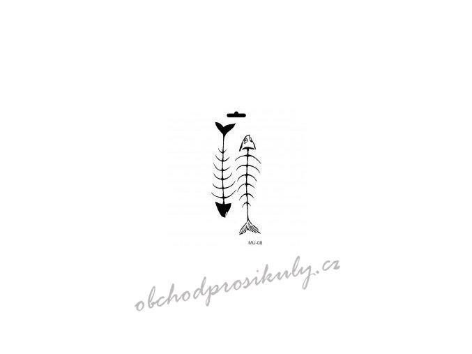 sablona cadence 25x10 cm rybi