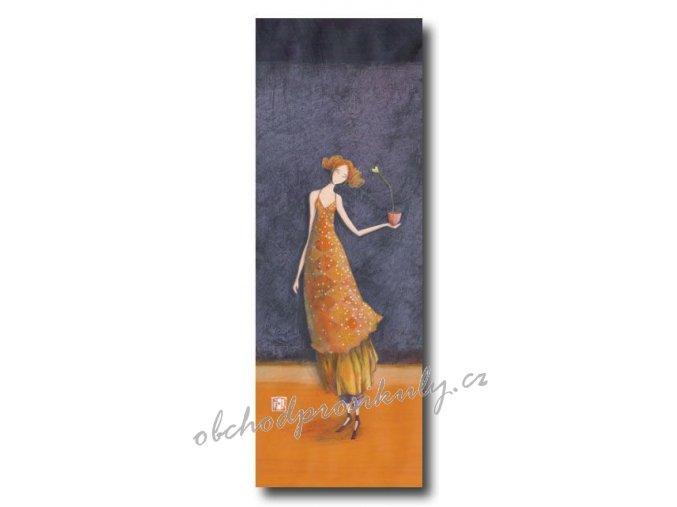 Luxusní přání s obálkou, velký formát, 11x31cm