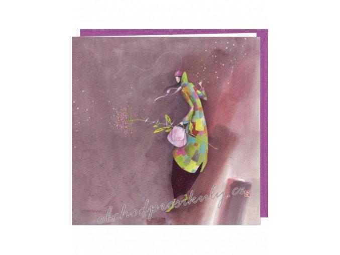 gaelle boissonnard carte postale double fleur d hiver