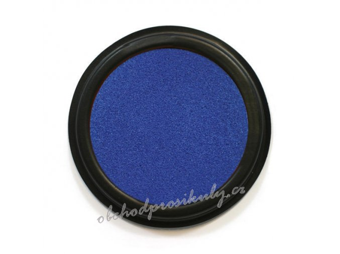 Razítkovací polštářek na textil  INDIGO 19014 , tm. modrá