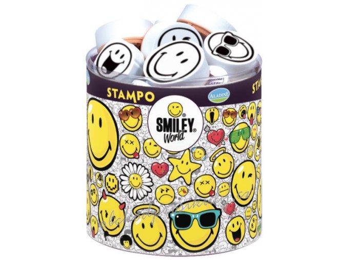 Sada razítek Stampo Smiley, smajlíci