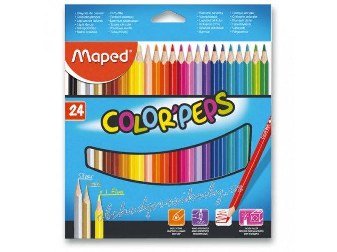 pastelky maped color peps 24 barev 9183224 original