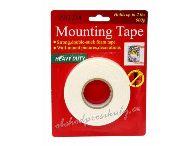 Oboustranná lepící páska pěnová, silně lepící