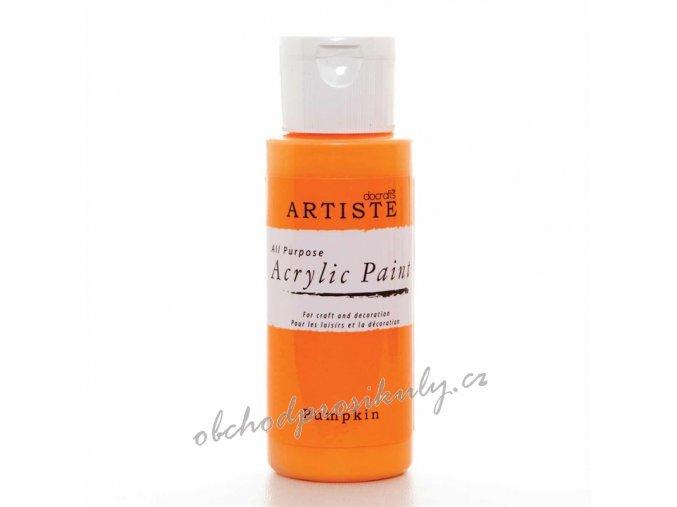 Akrylová barva oranžová Pumpkin  59ml