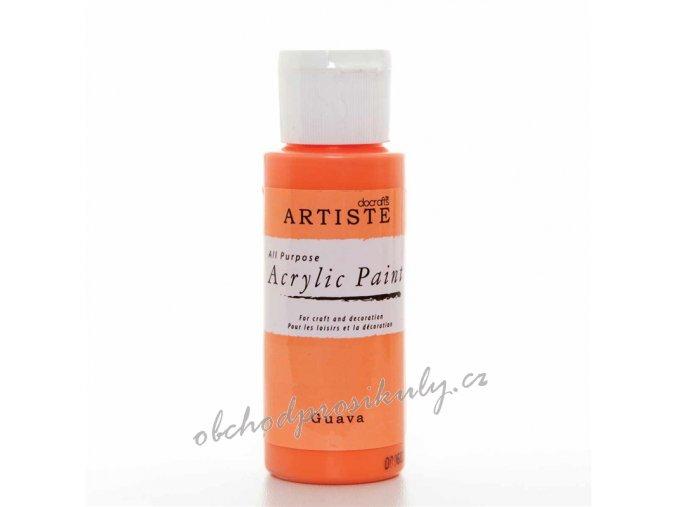 Akrylová barva oranžová 59ml