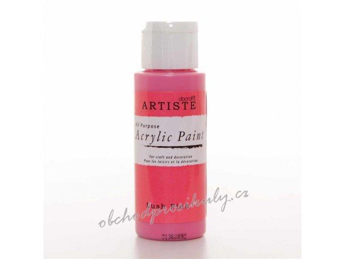Akrylová barva výrazná růžová 59ml