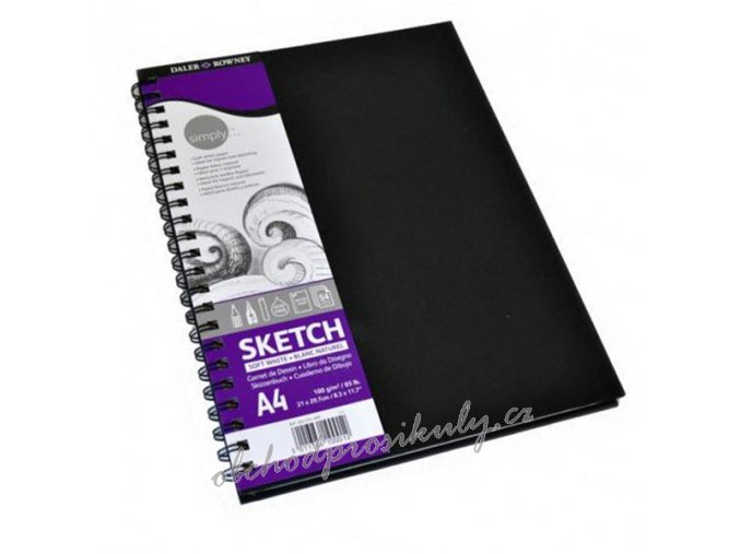 5011386100012 482254400 simplyspiral sketchbook a4 54seiten1