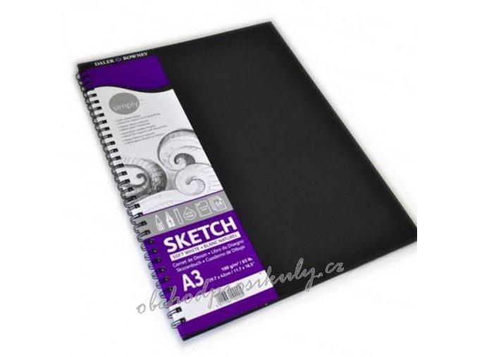 5011386100005 482254300 simplyspiral sketchbook a3 54seiten1