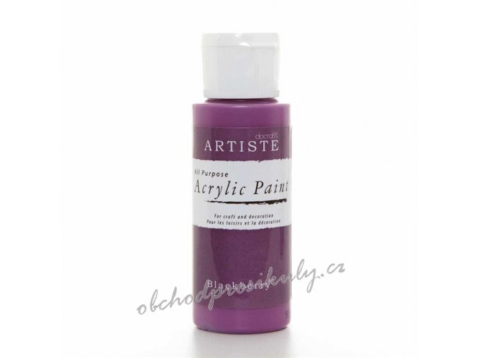 Akrylová barva ostružinová 59ml
