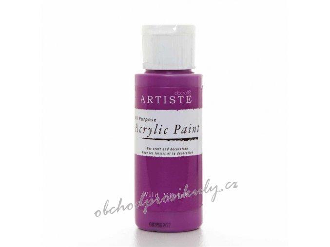 Akrylová barva fialová 59ml