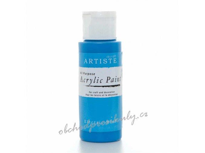 Akrylová barva ocelově modrá 59ml
