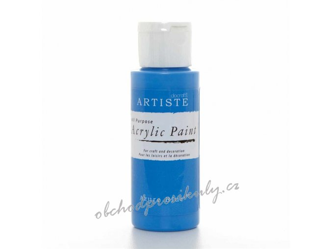 Akrylová barva azurová modrá 59ml