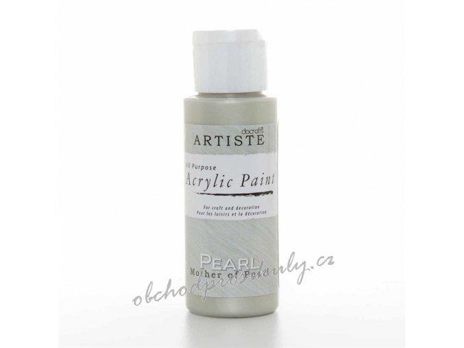 Akrylová barva perleťová základní 59ml