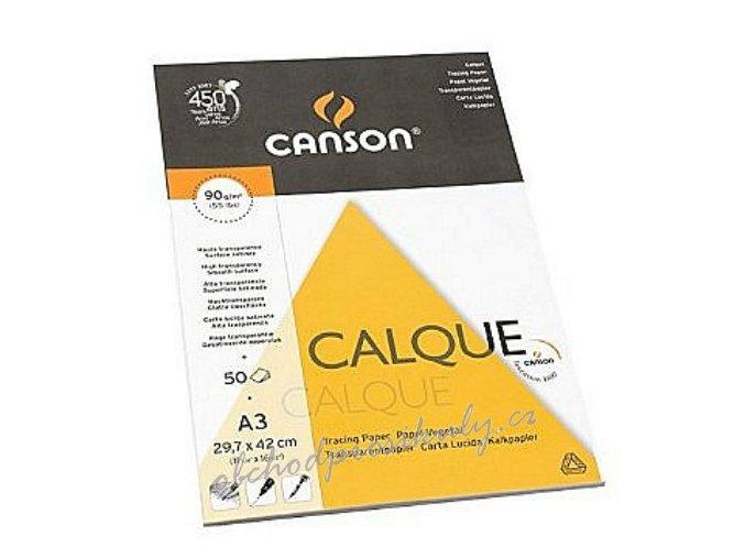 Pauzovací papír Calque A3, 1 list