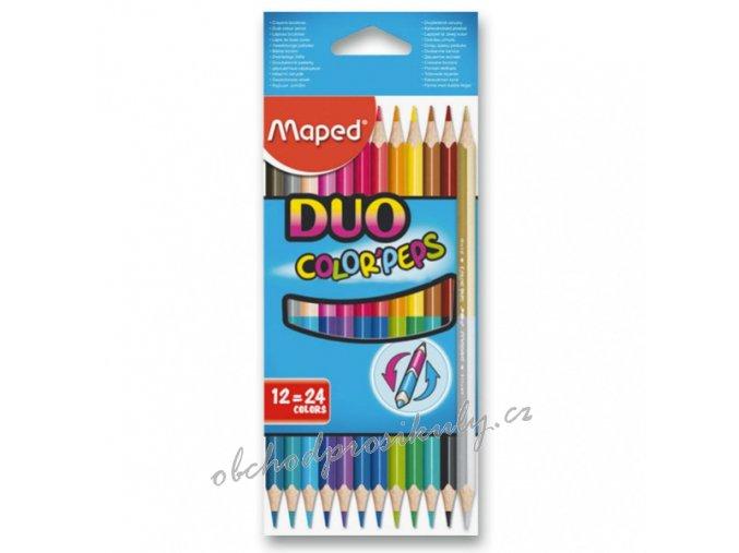 pastelky maped color peps duo oboustranne pastelky 9829600 original
