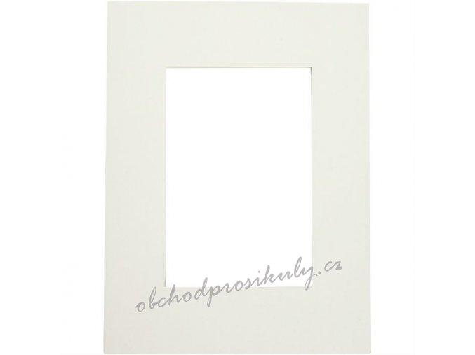 Pasparta papírová krémová 18x24cm (5ks)