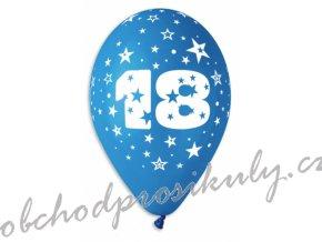 balonky pgs 110 potisk cislice 18 6 ks pgs 110 18 original m