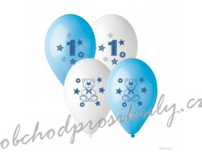 balonky pgs 110 potisk cislice 10 6 ks pgs 110 10 original