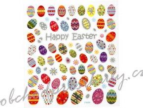 Samolepky velikonoční, vejce