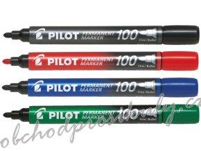 viltstift pilot sca 100 b rond 1mm viltstiften 4902505511097 zwart 2