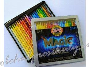 Pastelové tužky v laku Koh-i-noor, Progresso Magic