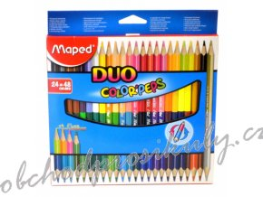 pastelky maped color peps duo oboustranne 48 barev 0086 9829602 original