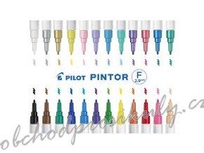 Pilot PINTOR Fun fine (šířka stopy 1mm)