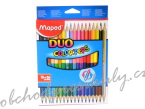 pastelky maped color peps duo oboustranne 36 barev 0086 9829601 original