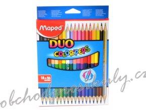 pastelky maped color peps duo oboustranne 36 barev 0086 9829601 original