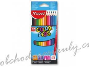 pastelky maped color peps 12 barev 9183212 original