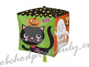 Balonek foliovy krychle Halloween 302938501