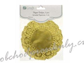 krajka kulata zlata 11 cm dpsw 002 original