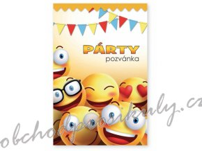 party pozvanky 6 ks smile 1140058 original